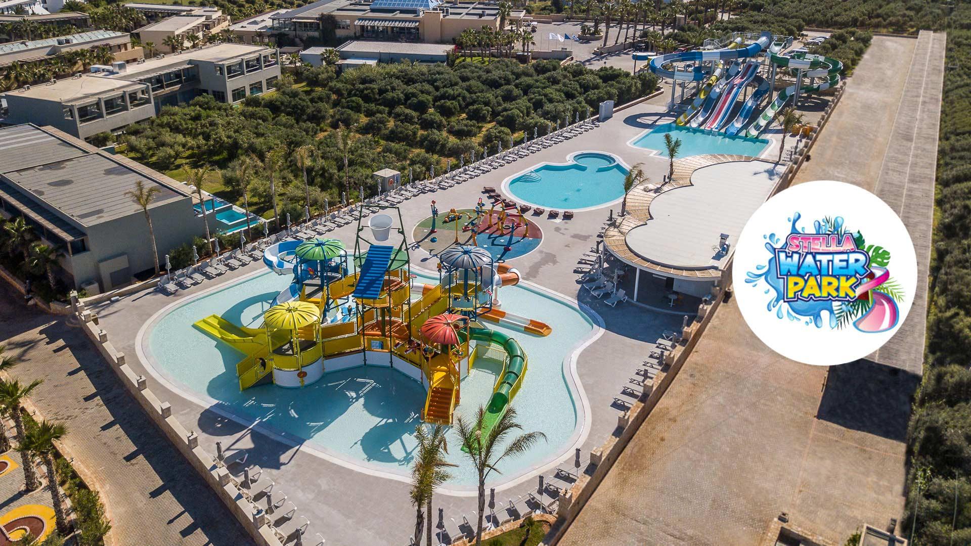 water park Hotel in Crete